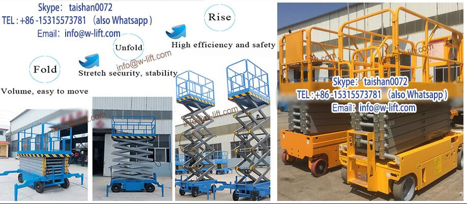 China self-propelled scissor work platform of new type