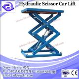 Amerigo CE certified Small Platform Single Cylinder Hydraulic Car Scissor Lift 6,600 lb.Capacity