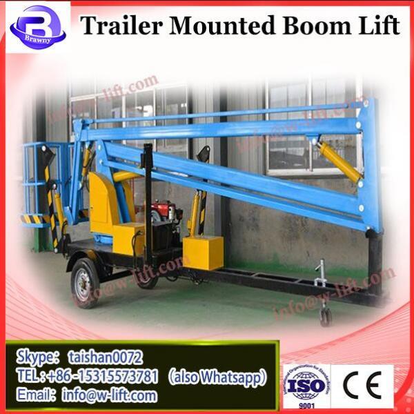 Truck mounted trailer small boom lift crane #1 image