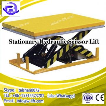 basement garage portable electric warehouse scissor lift