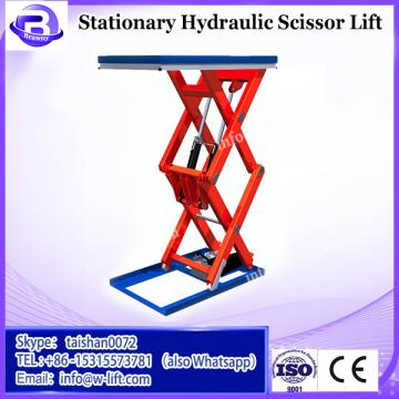 China manufacture hydraulic stationary scissor construction platform lift price