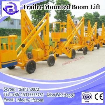 Hydraulic small boom lifts