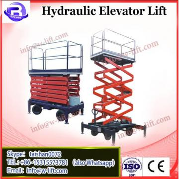 High Performance 1000kg Electric elevated Platform telescopic hydraulic lift