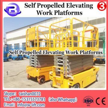 China self-propelled scissor work platform of new type