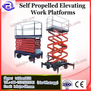 hydraulic self propelled mini scissor lift price, 12m small scissor lift china