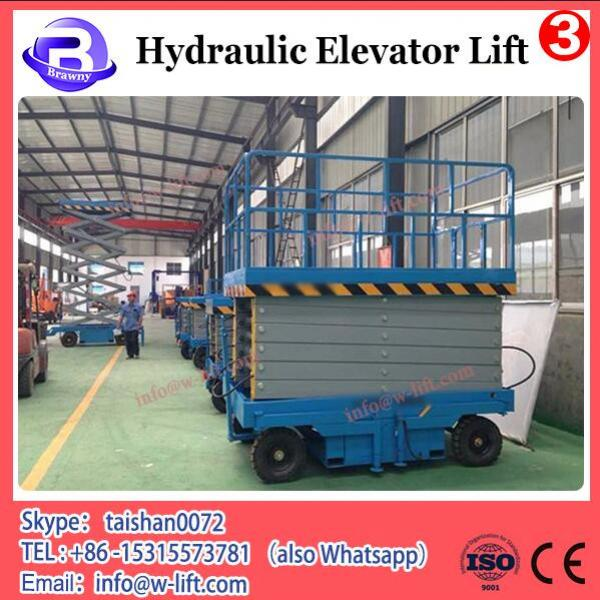300KG hydraulic disabled outdoor lift elevators/ handicapped wheelchairs for #1 image