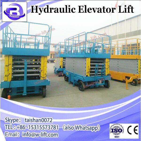 300KG hydraulic disabled outdoor lift elevators/ handicapped wheelchairs for #3 image