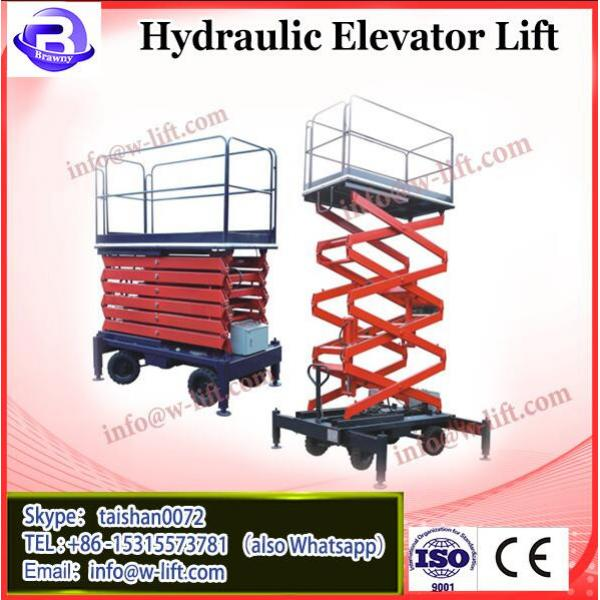 300KG hydraulic disabled outdoor lift elevators/ handicapped wheelchairs for #2 image
