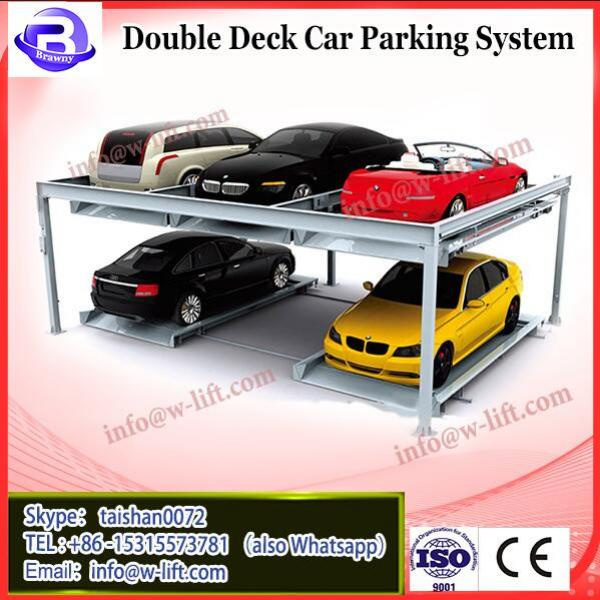 two ply carport/ double columns two deck parking/smart double level car stacking system #2 image